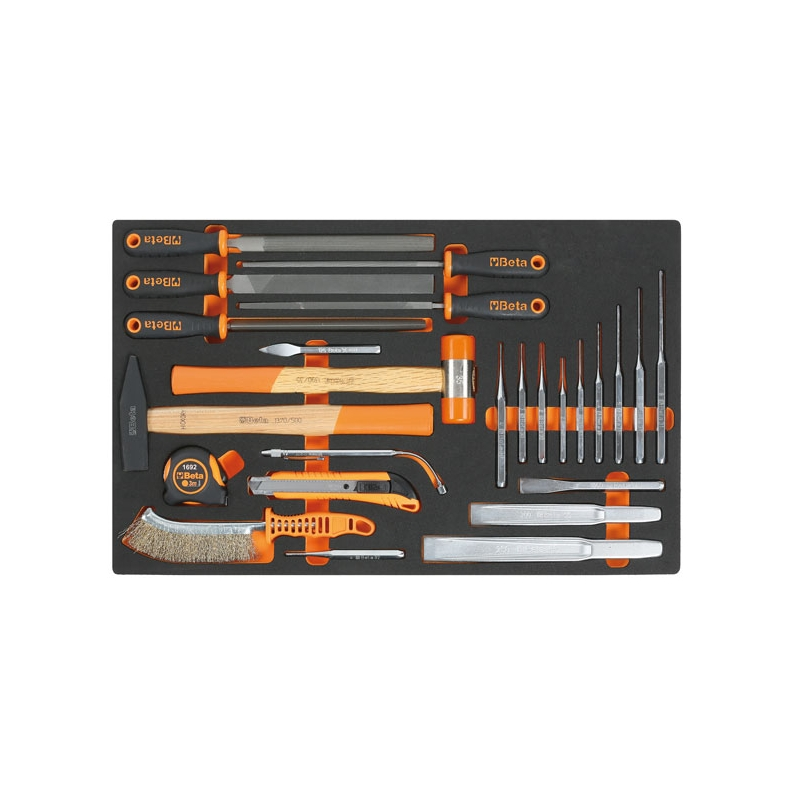 2450 M230-25 TOOLS IN SOFT THERMOFORMED