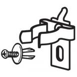 Tööriistahoidjad perfopaneelile
