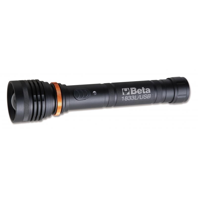 LED taskulamp, suure eredusega, 1200 luumenit 1833L/USB