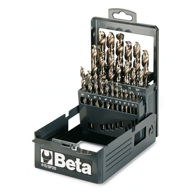 415-/SP19-SET19 PCS COBALT DRILLS