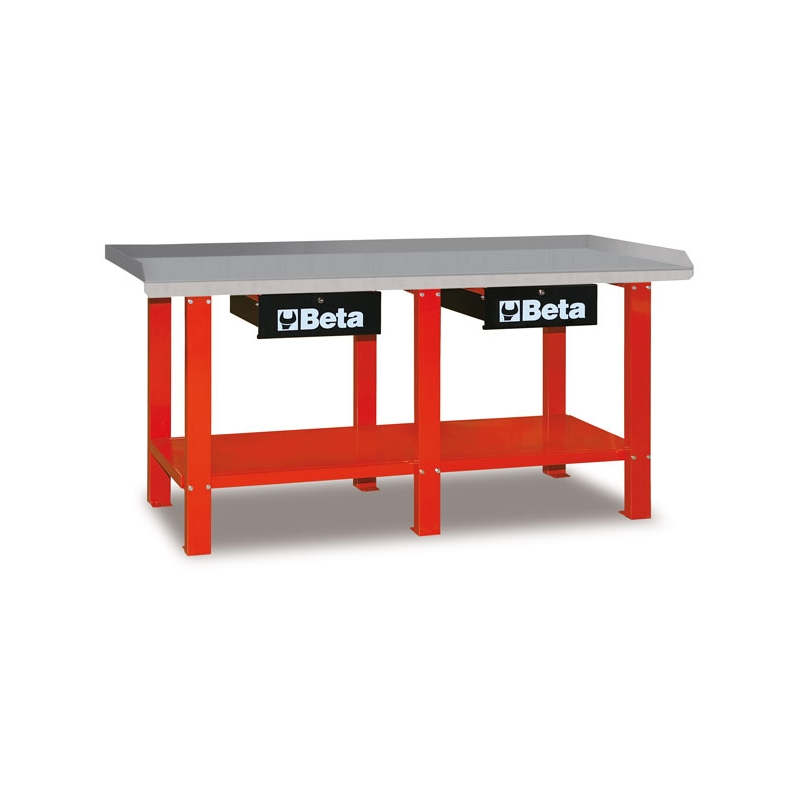 Töökojalaud C56R punane