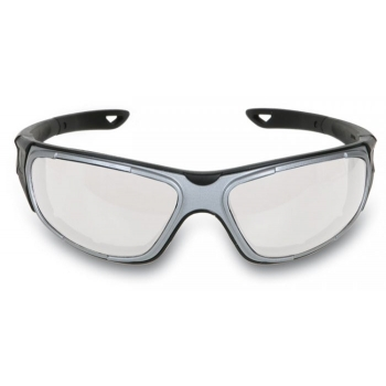 "7091 BC-GLASSES ""DRIVE BLACK-GREY"" CLEAR"