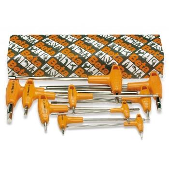 96 T/AS10-SET 10 HANDLE HEX KEYS