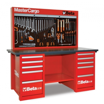 C57S B/R-MASTERCARGO WORKBENCH RED