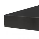 Töötasapind mustast laminaadist, 39 mm