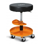 2250-O-SEAT WITH TRAY, ORANGE