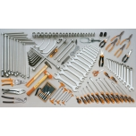 Tööriistakomplekt 118 tööriistaga