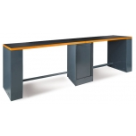 C55BO/D4-4M LONG WORKBENCH, ORANGE