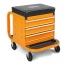 2258-O-SEAT WITH MOBILE, ORANGE