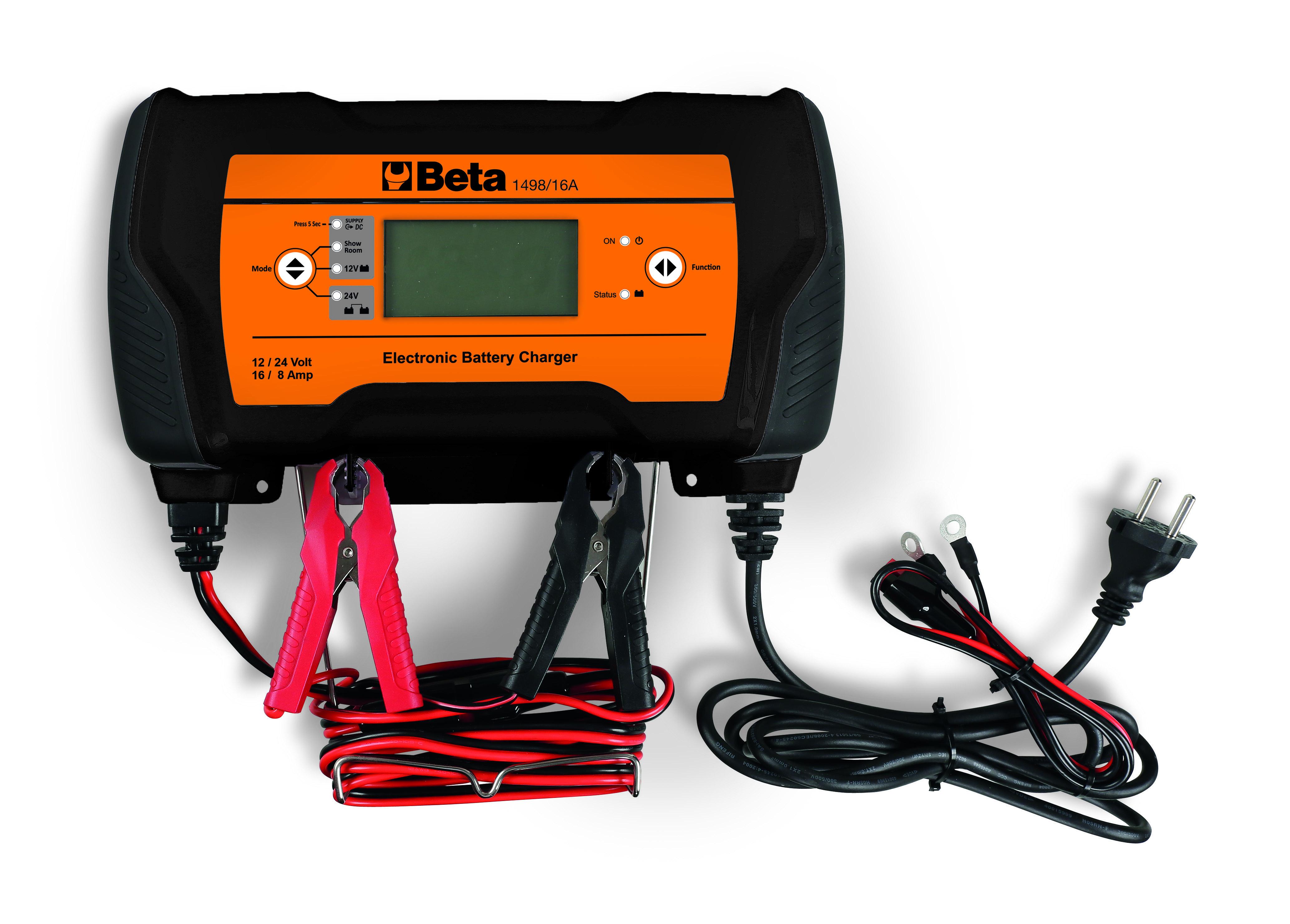 Akulaadija, elektrooniline 12-24V