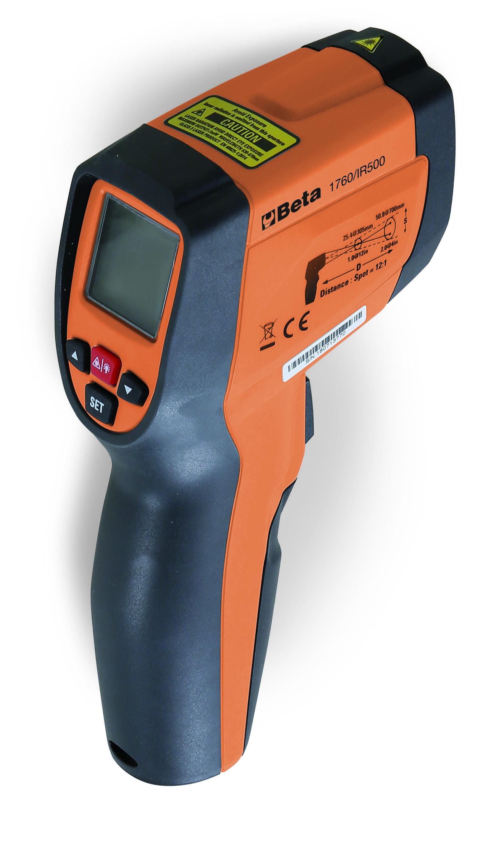 Digitaalne infrapuna termomeeter, kahe laserkiirega 1760/IR500