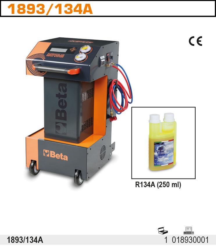 Konditsioneeride täitmisjaam R134a gaasile, automaatne