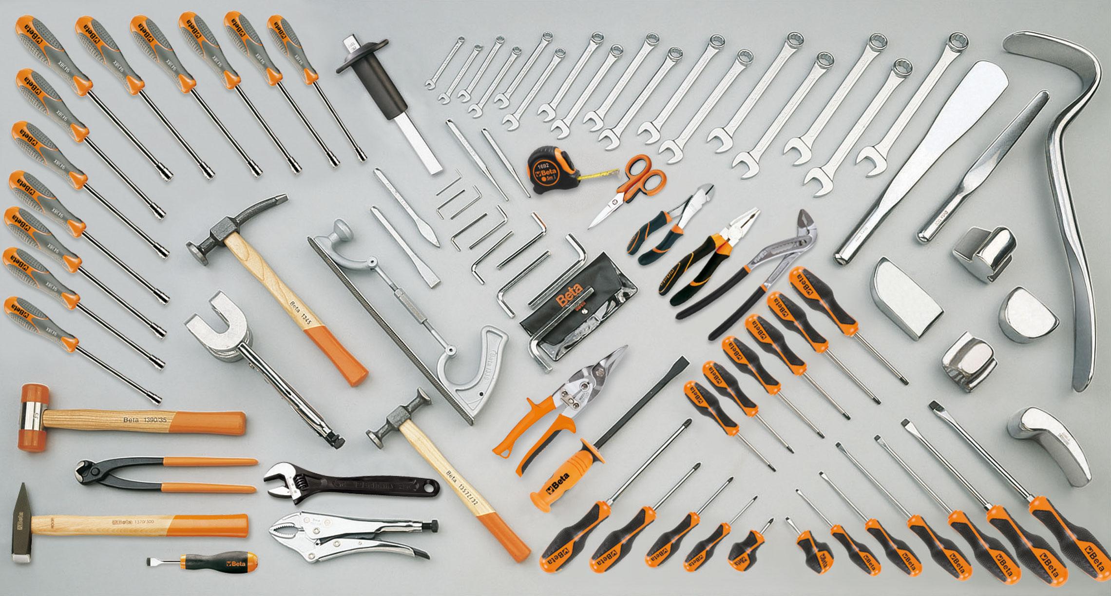 Tööriistakomplekt 94 tööriistaga autode keretöödeks