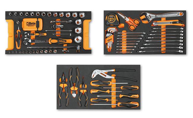 Tööriistakomplekt 109 tööriistaga tööriistakärule C14, pehmes sisus