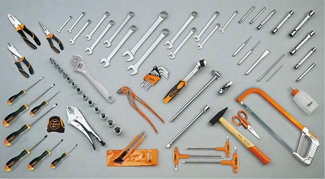 Tööriistakomplekt 74 tööriistaga