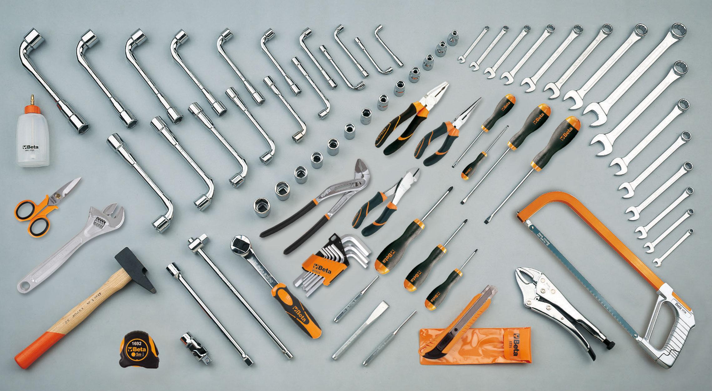 Tööriistakomplekt 80 tööriistaga