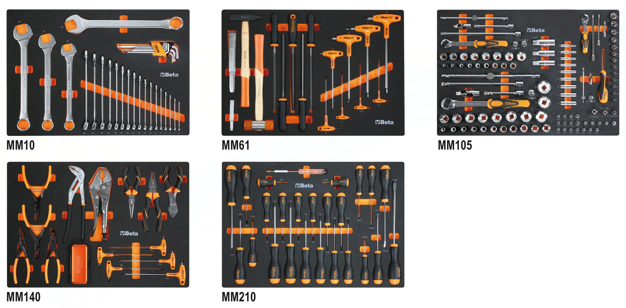 Tööriistakomplekt 231 tööriistaga unirversaalseks kasutamiseks