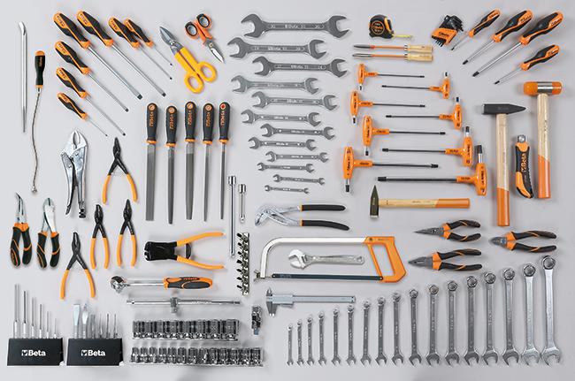 Tööriistakomplekt 133 tööriistaga