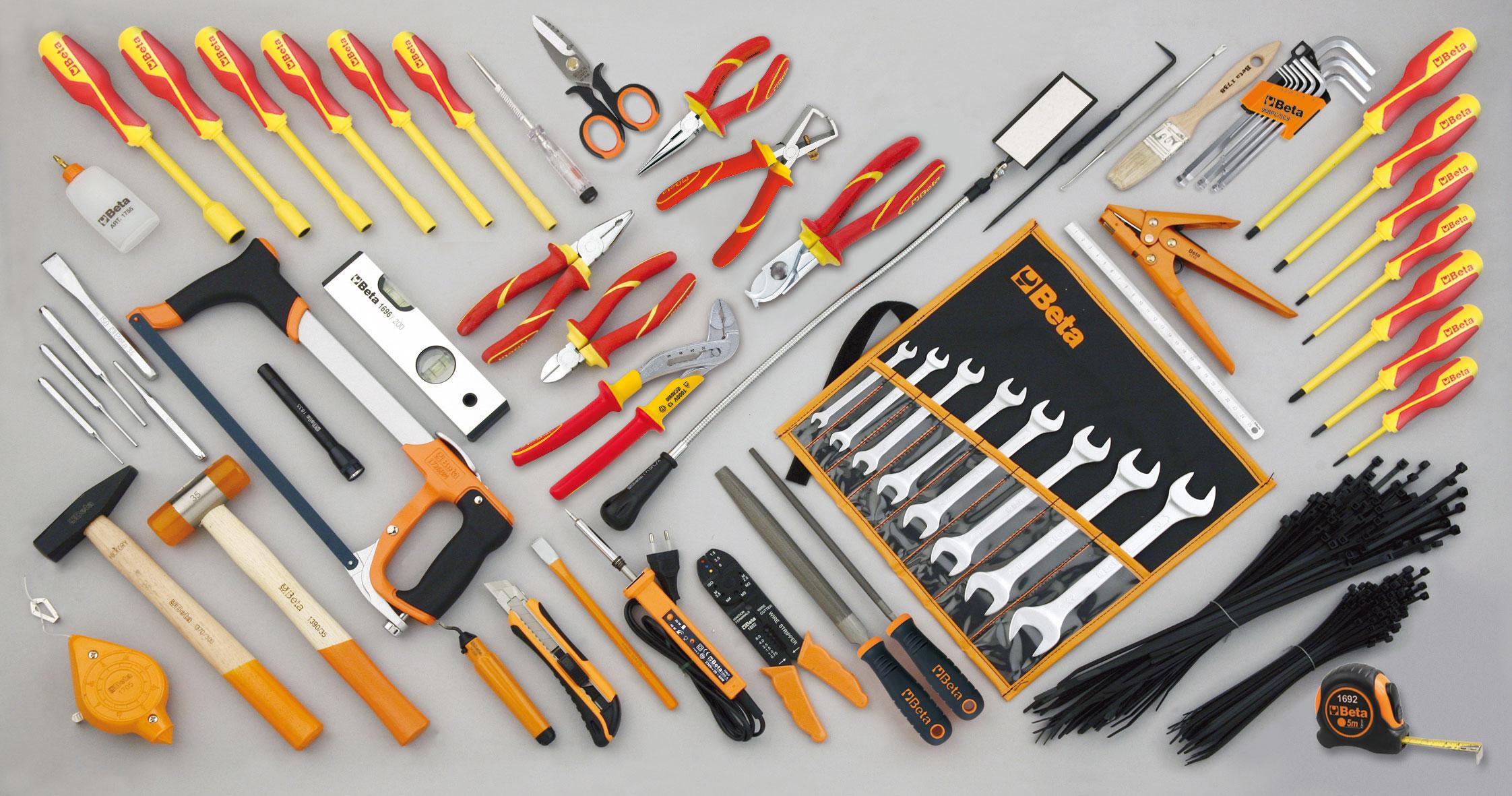 Tööriistakomplekt 64 tööriistaga