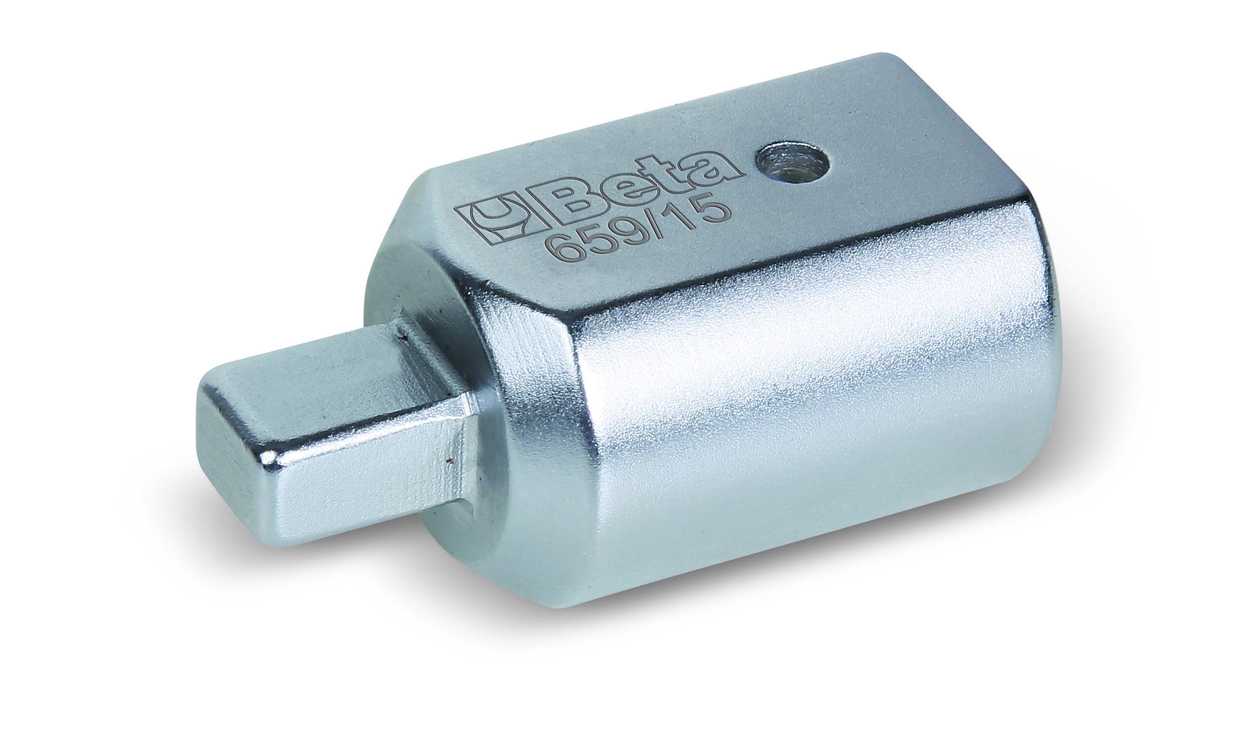 Adapter nelinurkse sisemise (14x18 mm) ja välimise (9x12 mm) ajamiga