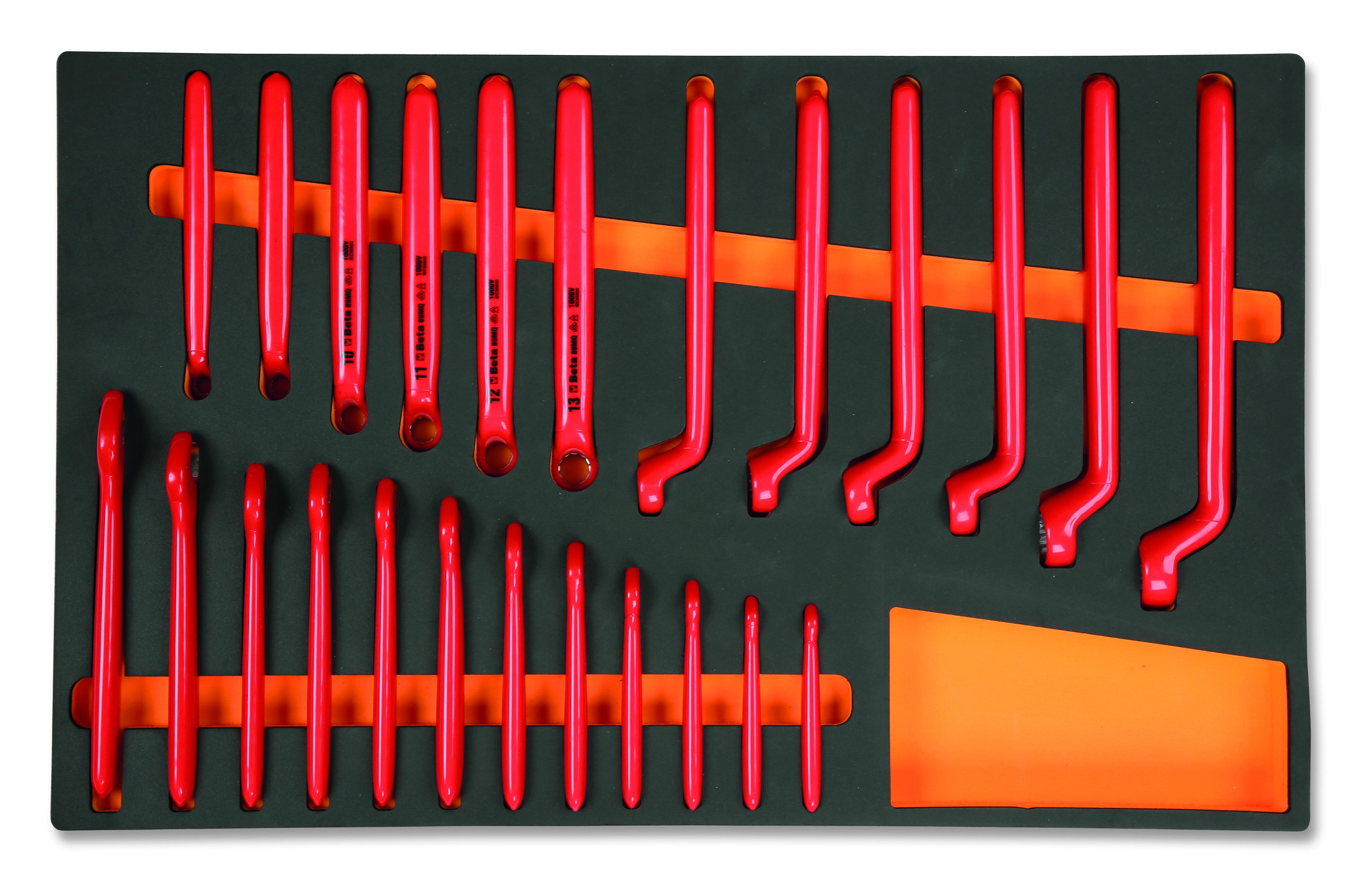 Elektrotehnilised tööriistad pehmes sahtlisisus, isoleeritud, 1000V