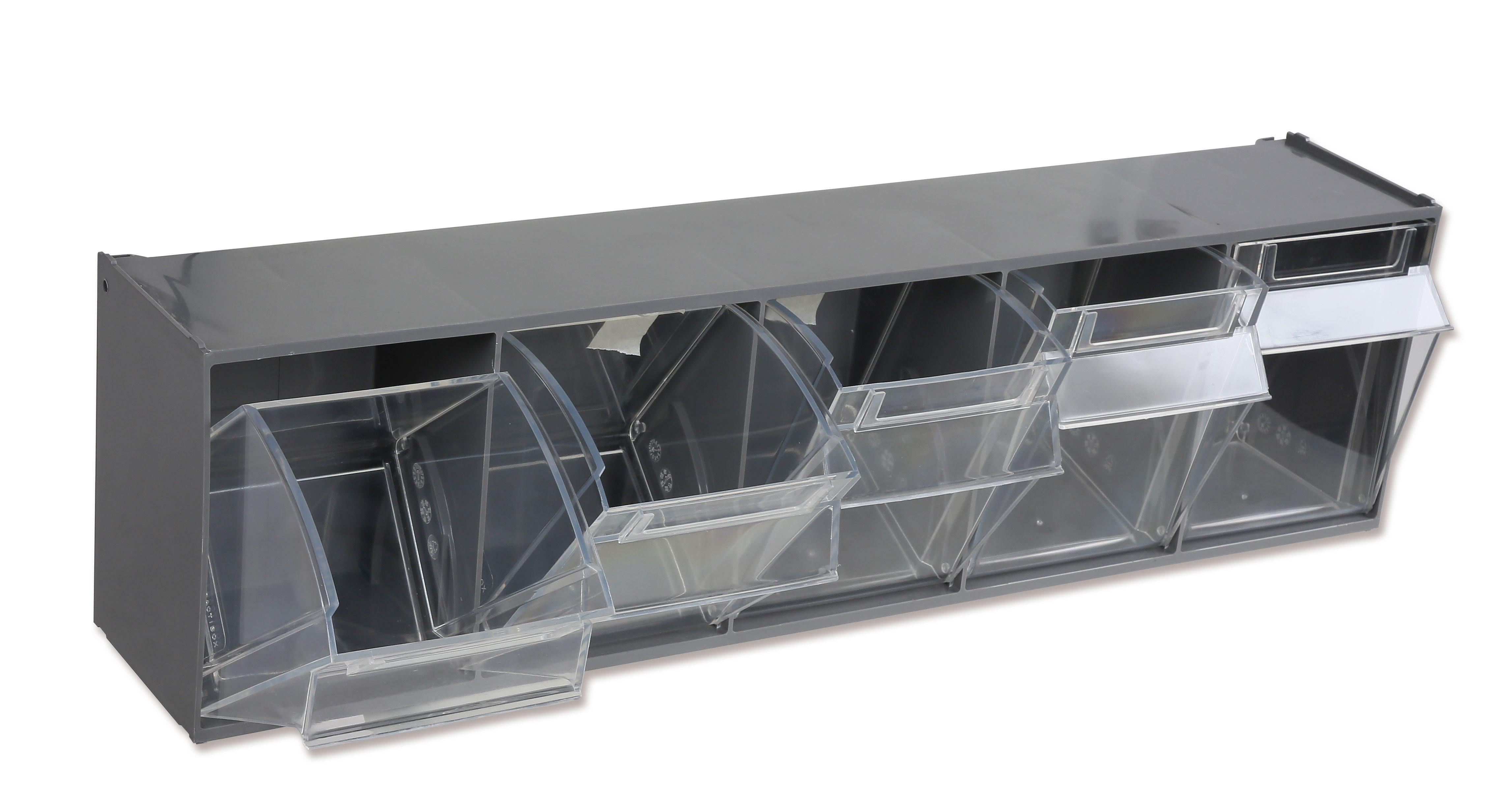 Karbikomplekt seinale, 5 plastikkarpi koos raamiga, PM/5C