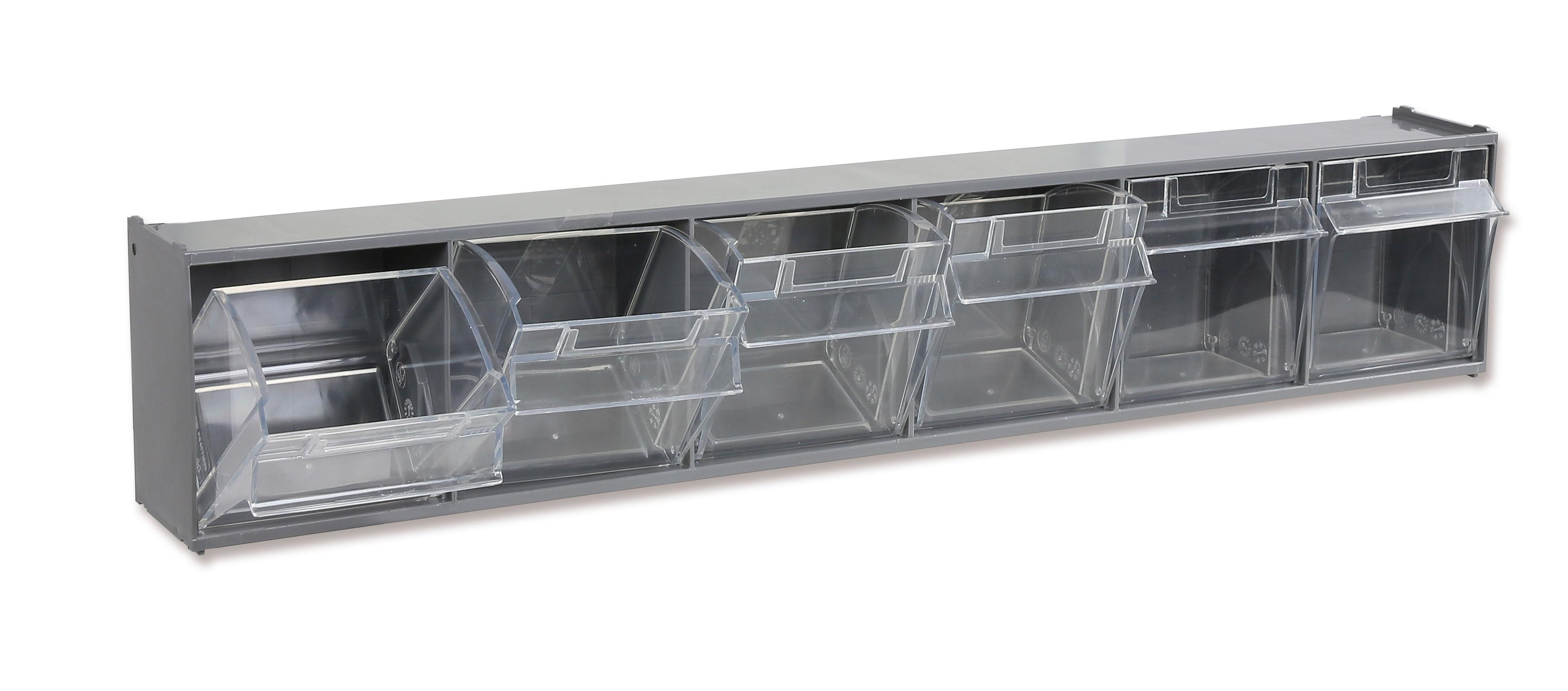 Karbikomplekt seinale, 6 plastikkarpi koos raamiga, PM/6C
